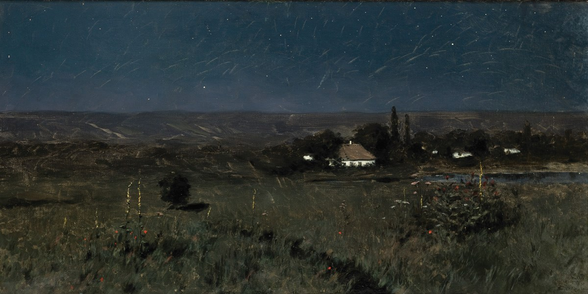 """Stanisław Witkiewicz, """"Noc ukraińska"""",1895. Wł. Muzeum Narodowe w Krakowie (źródło: materiały prasowe organizatora)"""