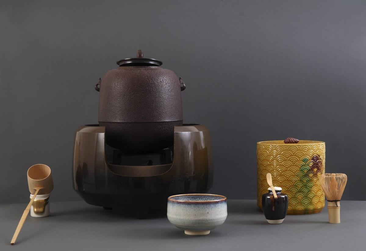 """Zestaw herbaciany do parzenia herbaty """"hiratemae"""", XX w. (źródło: materiały prasowe organizatora)"""