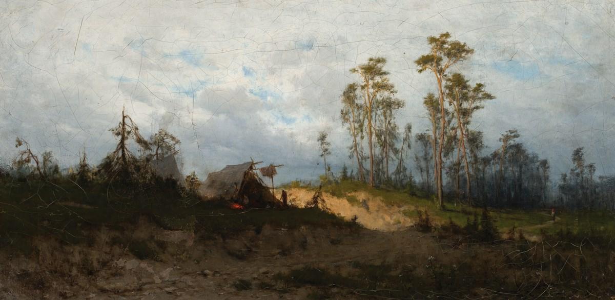 """Zygmunt Sidorowicz (1846-1881), """"Szatry cygańskie"""", 1876, wł. Muzeum Narodowe w Warszawie; foto Krzysztof Wilczyński (źródło: materiały prasowe organizatora)"""