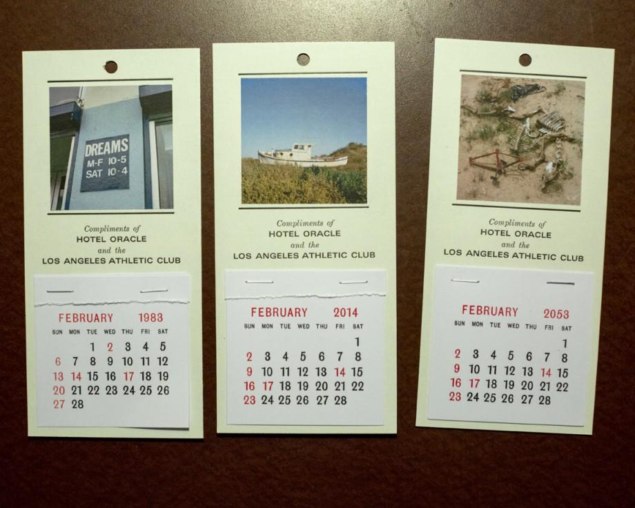 """""""Pamiątkowe kalendarze"""", 2014 © Jason Fulford (źródło: materiały prasowe organizatora)"""