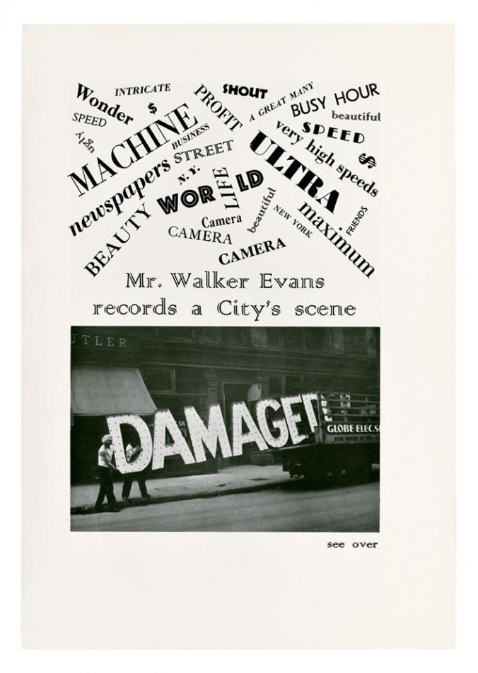 """Walker Evans, """"Pan Walker Evans rejestruje obraz miasta"""", """"Creative Art"""", grudzień 1930. Dzięki uprzejmości The Metropolitan Museum of Art (źródło: materiały prasowe organizatora)"""