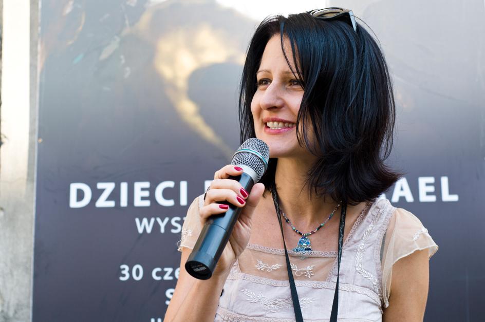 Na zdjęciu: Agnieszka Legutko (źródło: materiały prasowe organizatora)