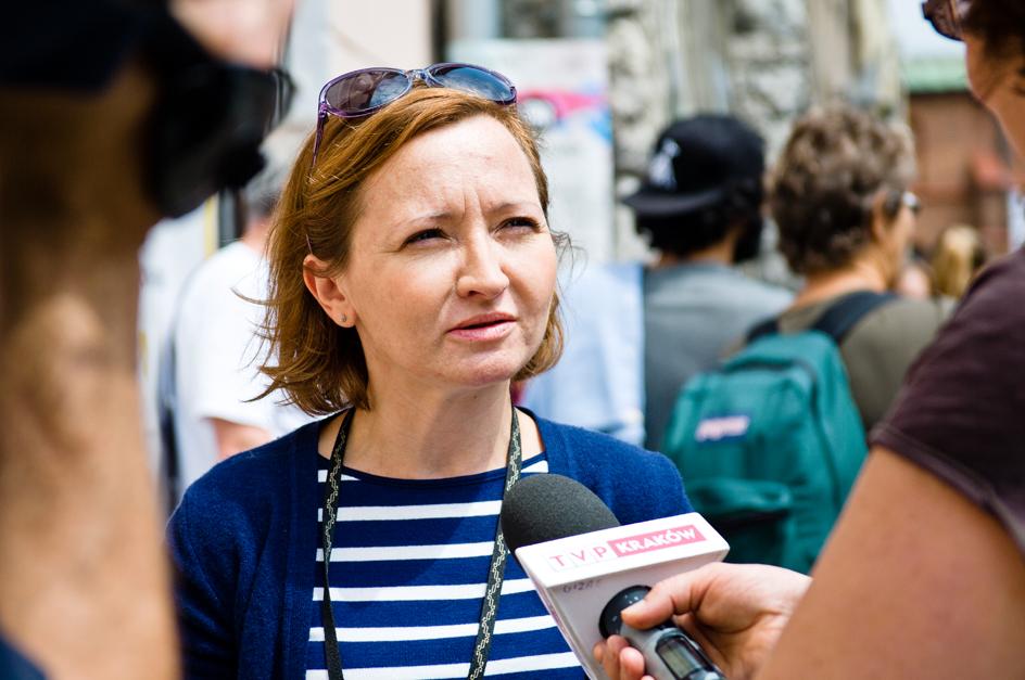 Na zdjęciu: Anna Kiesell, Festiwal Kultury Żydowskiej (źródło: materiały prasowe organizatora)