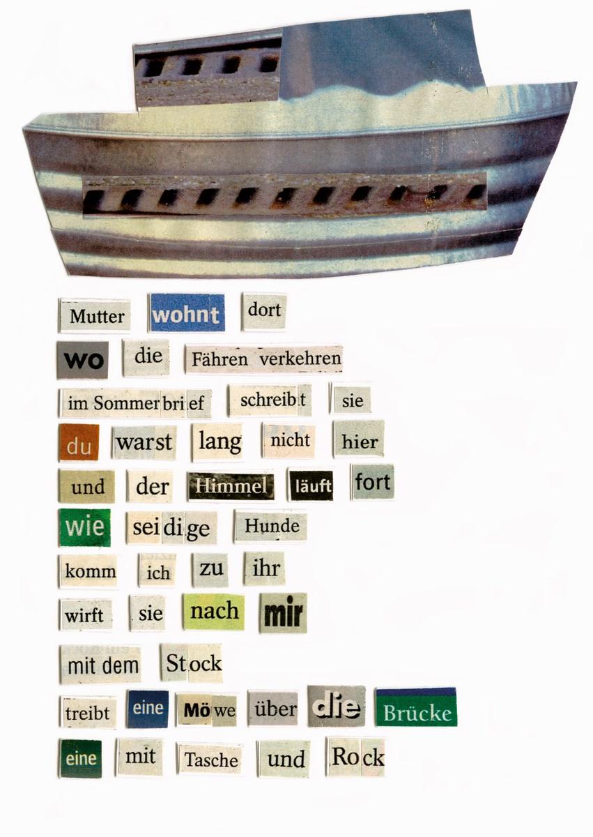 """Herta Müller, """"Collagen – Buchprojekt"""" © Carl Hanser Verlag München (źródło: materiały prasowe organizatora)"""