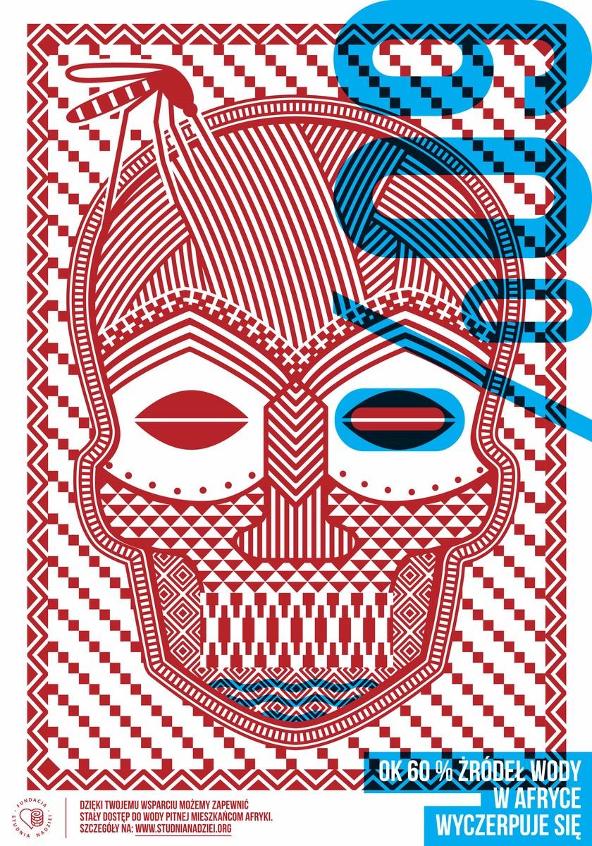 """Łukasz Kowalski Polska, """"Studnia Nadziei – 60% """", 2013, druk cyfrowy, 100 × 70, druk autorski (źródło: materiały prasowe organizatora)"""