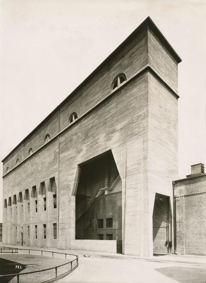 Kohlebunker, Henschel & Sohn, Kassel, 1917, Architekt Curt von Brocke, Fotograf unbekannt, Landesmuseum Oldenburg (źródło: materiały prasowe organizatora)