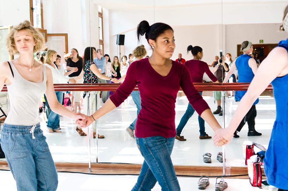 Warsztaty tańca, Festiwal Kultury Żydowskiej (źródło: materiały prasowe organizatora)