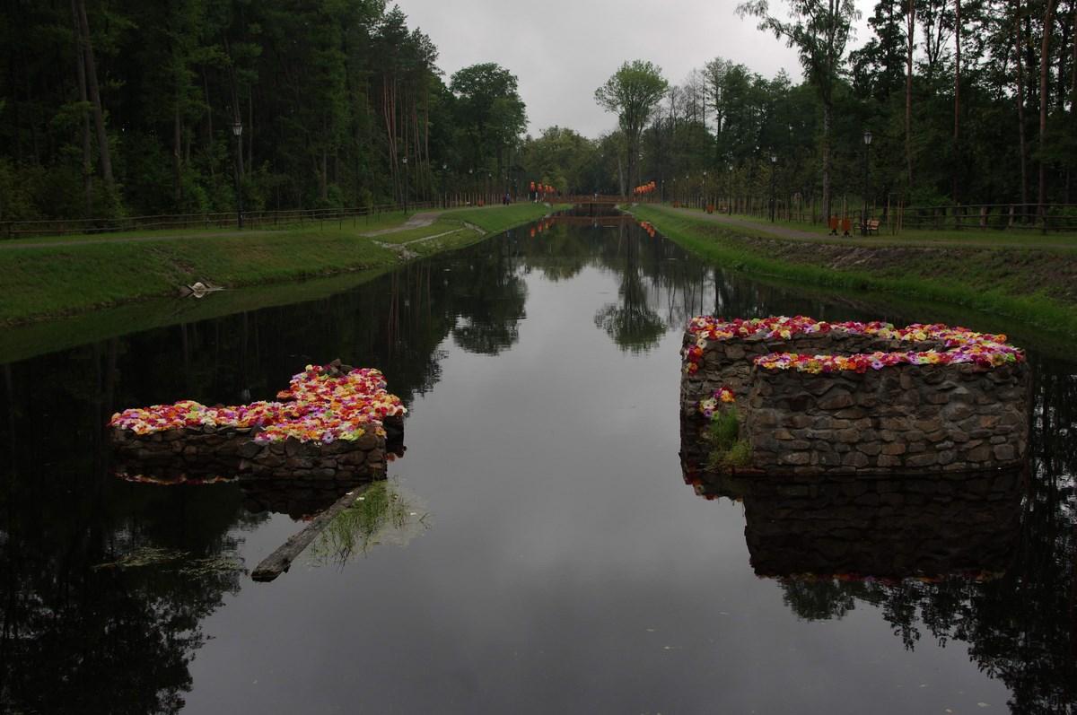 """Jan Gryka, """"To nie są nenufary"""", 3. Landart Festiwal (źródło: materiały prasowe organizatora)"""