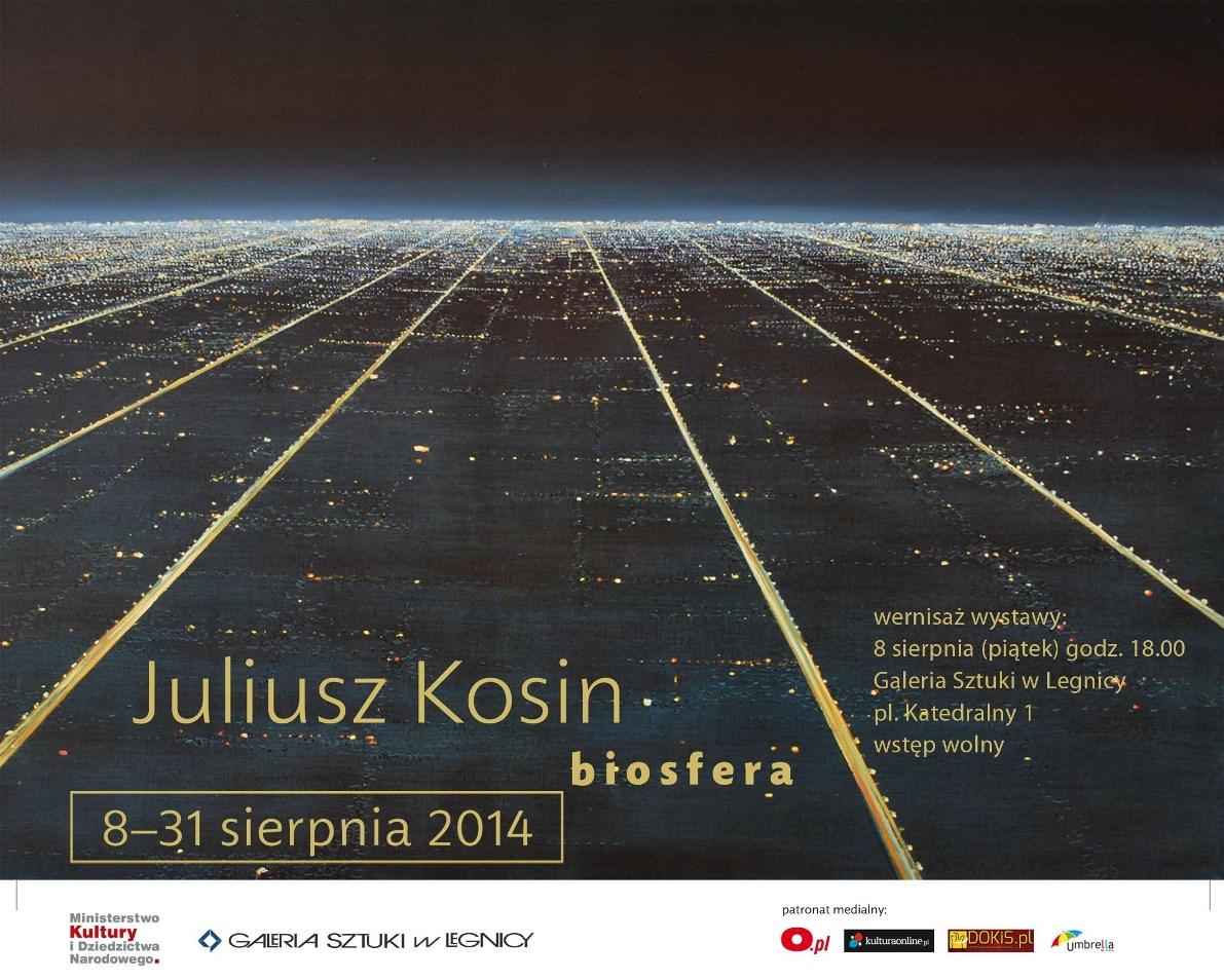 """Juliusz Kosin """"Biosfera"""" (źródło: materiały prasowe)"""