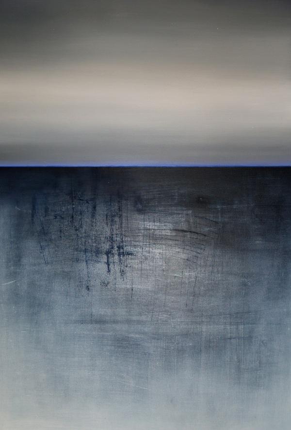 """Karolina Jaklewicz, """"Tryptyk północny II"""", 80x120 cm, olej, 2013 (źródło: materiały prasowe organizatora)"""