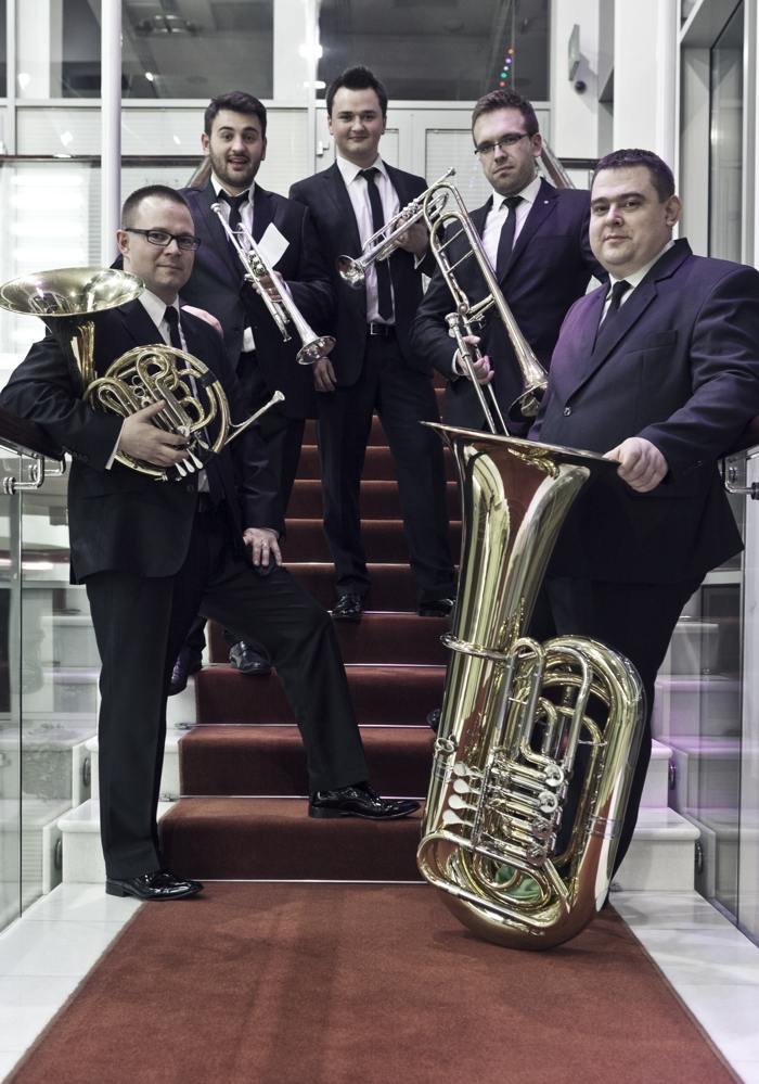 Varsovia Brass Quintet (źródło: materiały prasowe)