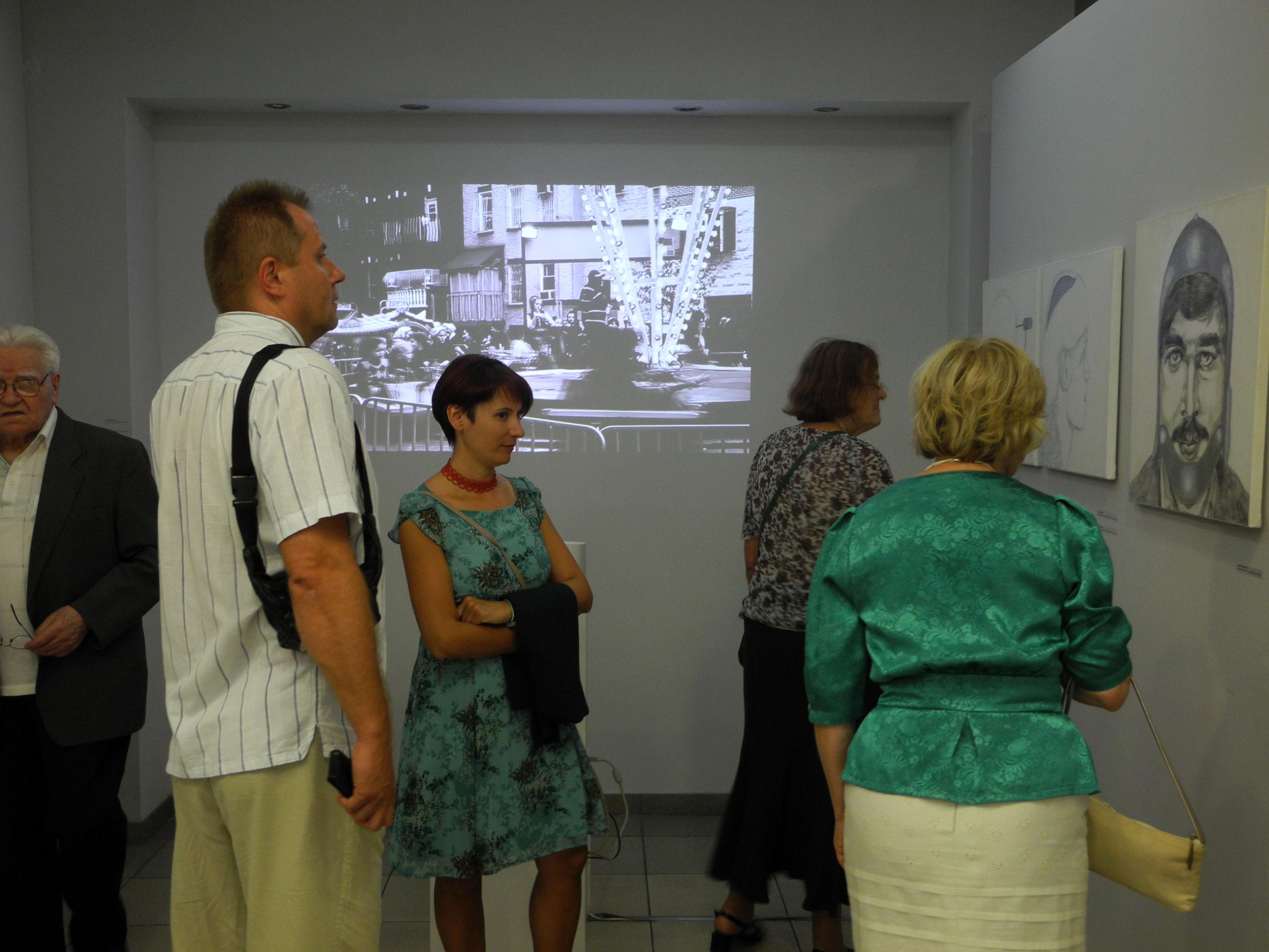 """""""Łemkowskie Jeruzalem"""", wernisaż wystawy (źródło: materiały prasowe organizatora)"""