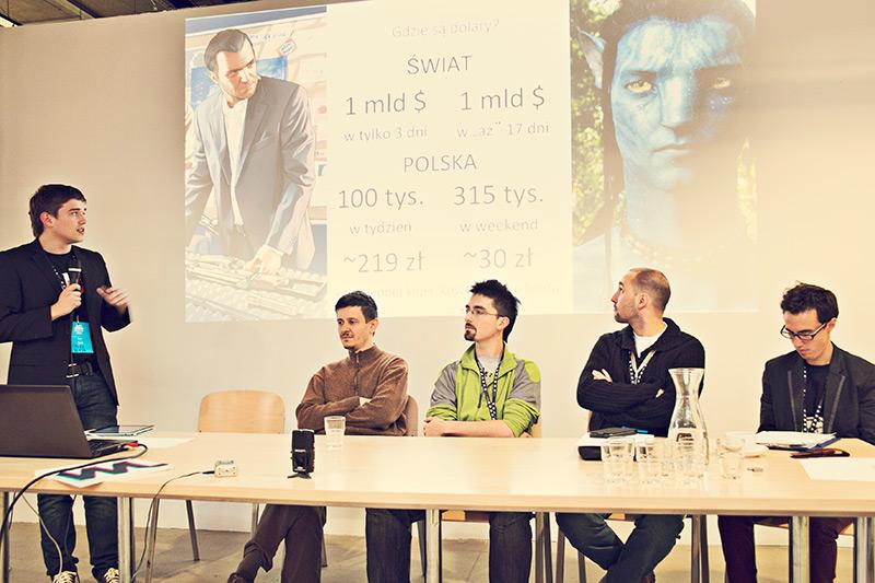 Konferencja Grasz? na Ars Independent 2013, (źródło: materiały prasowe organizatora)
