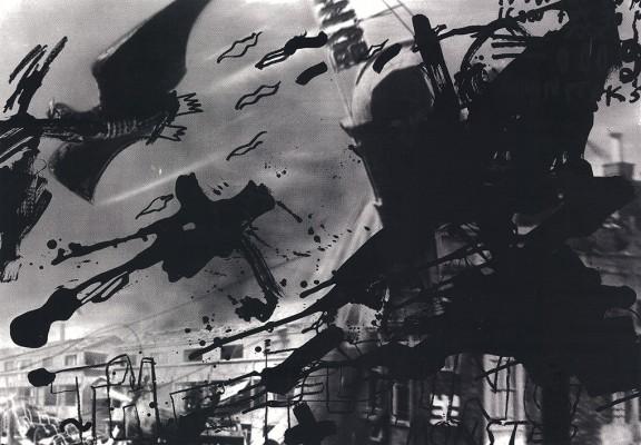 """Marta Kubiak """"It started at 11:00"""", 2011, serigrafia (źródło: materiały prasowe)"""