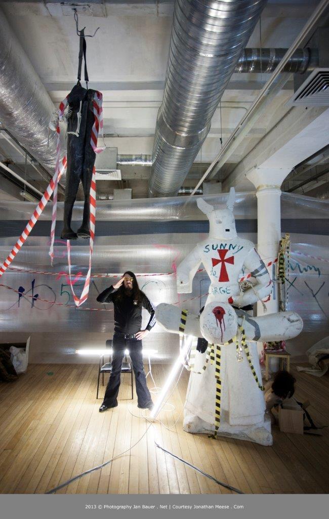 """Wystawa """"Berlin Heist"""": Jonathan Messe (źródło: materiały prasowe organizatora)"""
