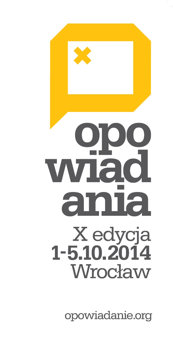10. Międzynarodowy Festiwal Opowiadania – plakat (źródło: materiały prasowe)