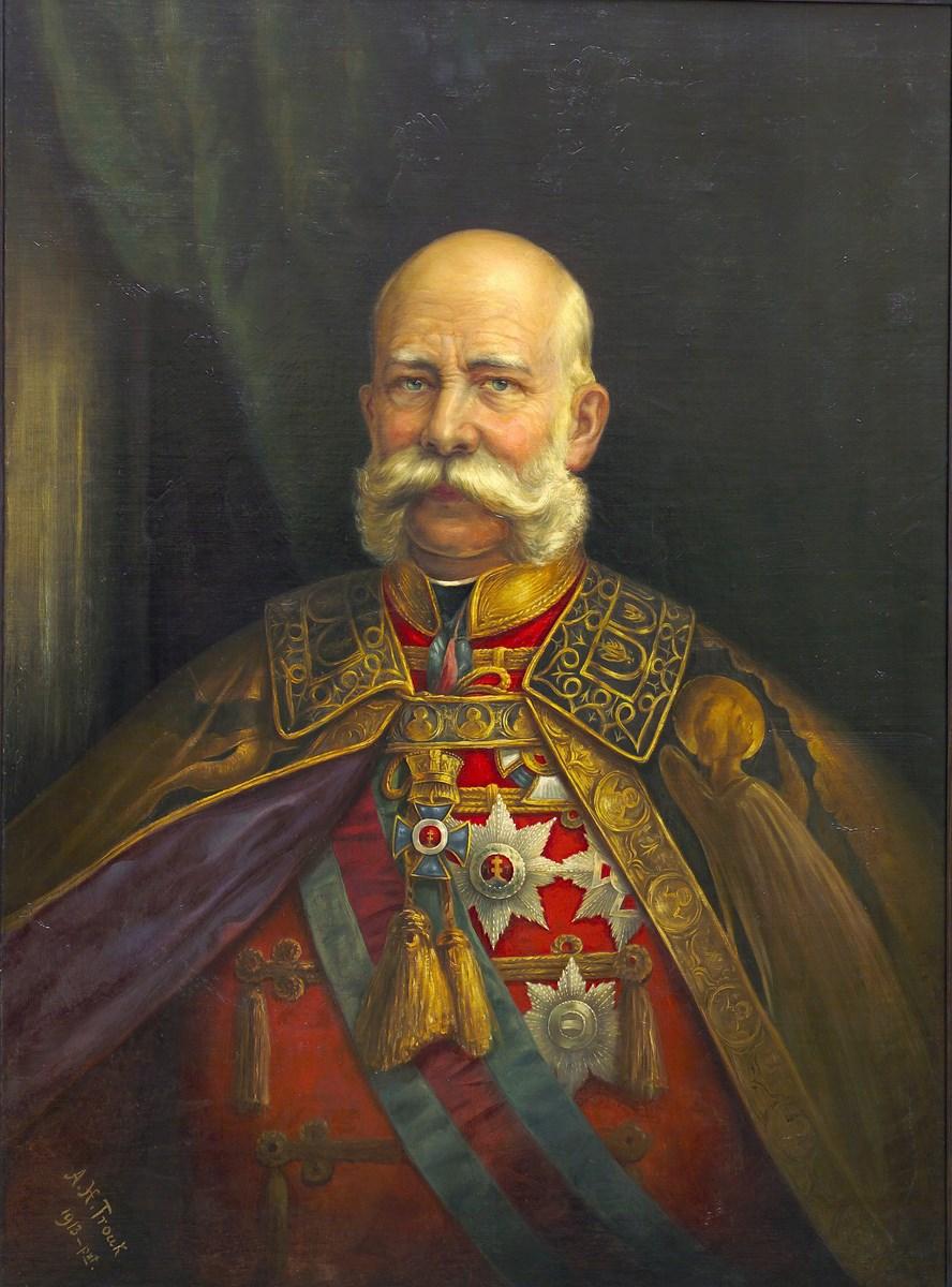 """""""Portret Franciszka Józefa"""" (źródło: materiały prasowe organizatora)"""