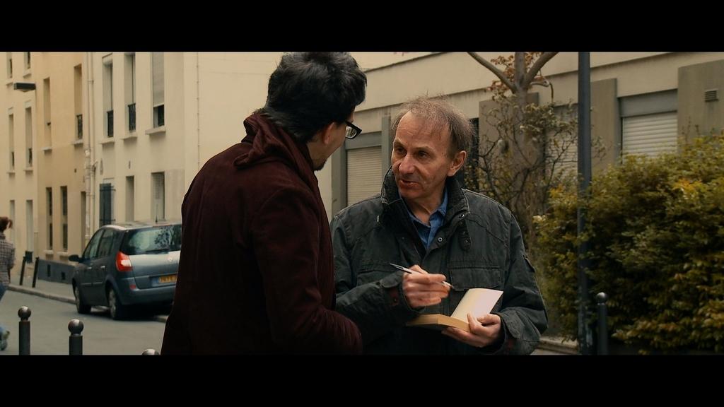 """""""Porwanie Michela Houellebecqa"""", reż. Guillaume Nicloux, kadr (źródło: materiały prasowe)"""