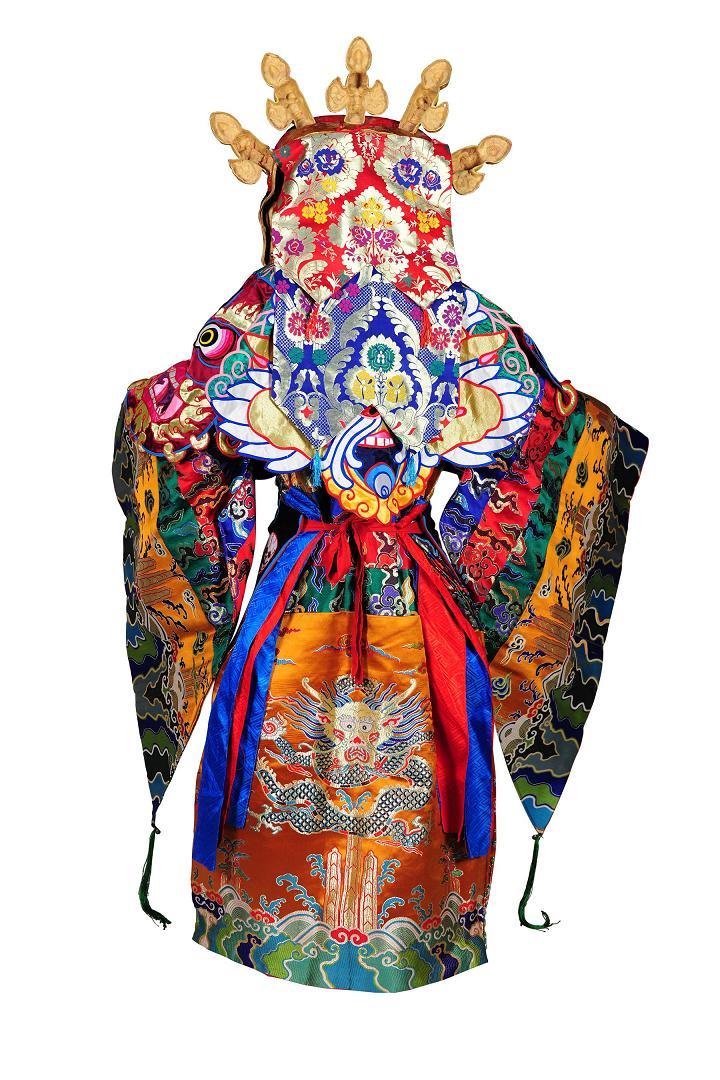 Bóstwo opiekuńcze, Maska tybetańska (źródło: materiały prasowe organizatora)