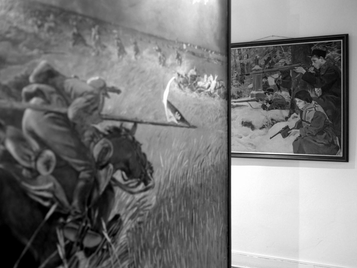 """Krzysztof Pijarski, """"Bitwa"""" (źródło: materiały prasowe organizatora)"""