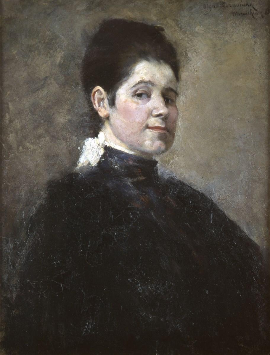 """Olga Boznańska, """"Autoportret"""", 1888, wł. Muzeum Uniwersytetu Jagiellońskiego Collegium Maius (źródło: materiały prasowe organizatora)"""