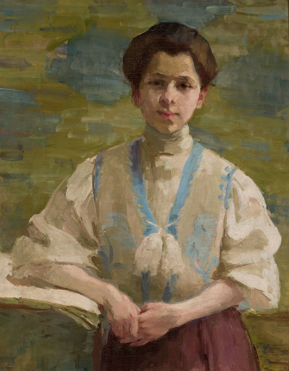 """Olga Boznańska, """"Autoportret"""", 1893, wł. Muzeum Narodowe w Warszawie (źródło: materiały prasowe organizatora)"""