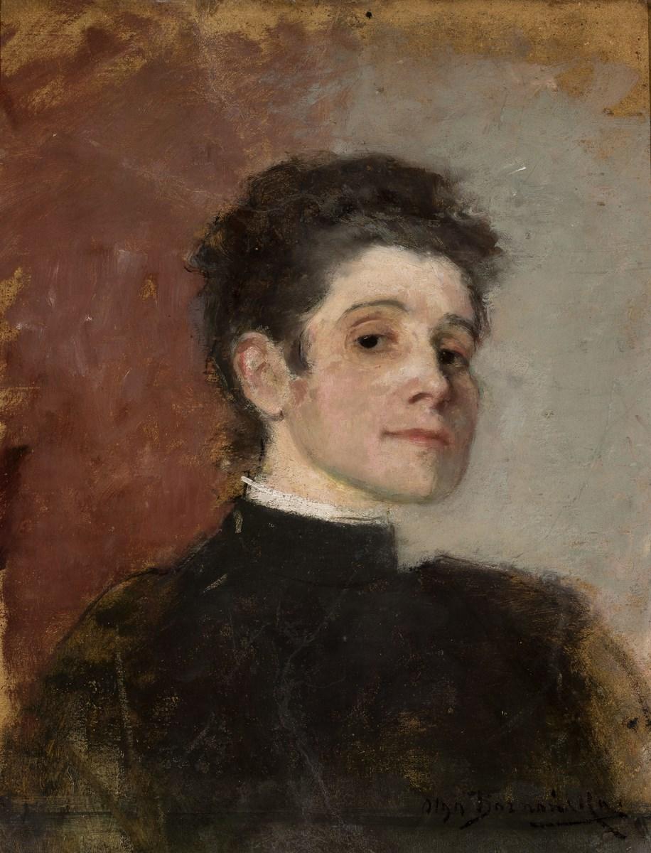 """Olga Boznańska, """"Autoportret"""", 1896, wł. Muzeum Narodowe w Warszawie (źródło: materiały prasowe organizatora)"""