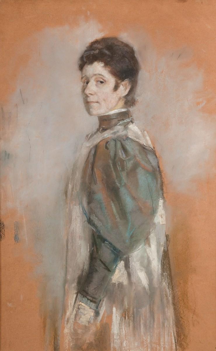 """Olga Boznańska, """"Autoportret"""", 1898, wł. Muzeum Narodowe w Krakowie (źródło: materiały prasowe organizatora)"""