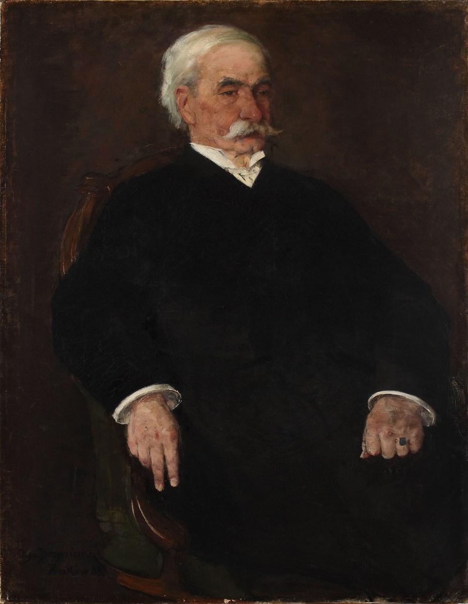 """Olga Boznańska, """"Portret Teodora Zgody-Baranowskiego"""", 1888, Muzeum Historyczne Miasta Krakowa (źródło: materiały prasowe organizatora)"""