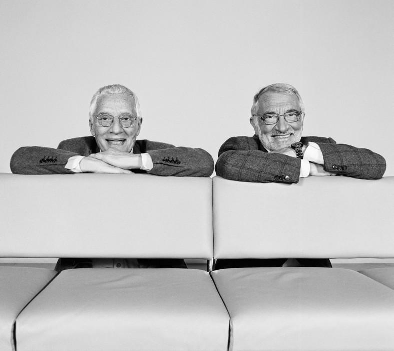Alessandro i Francesco Mendini (źródło: materiały prasowe organizatora)