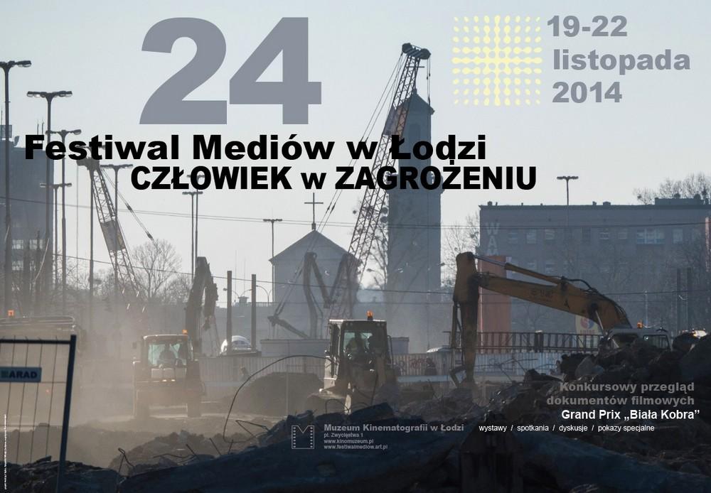 """Festiwal Mediów """"Człowiek w zagrożeniu"""" (źródło: materiały prasowe organizatora)"""