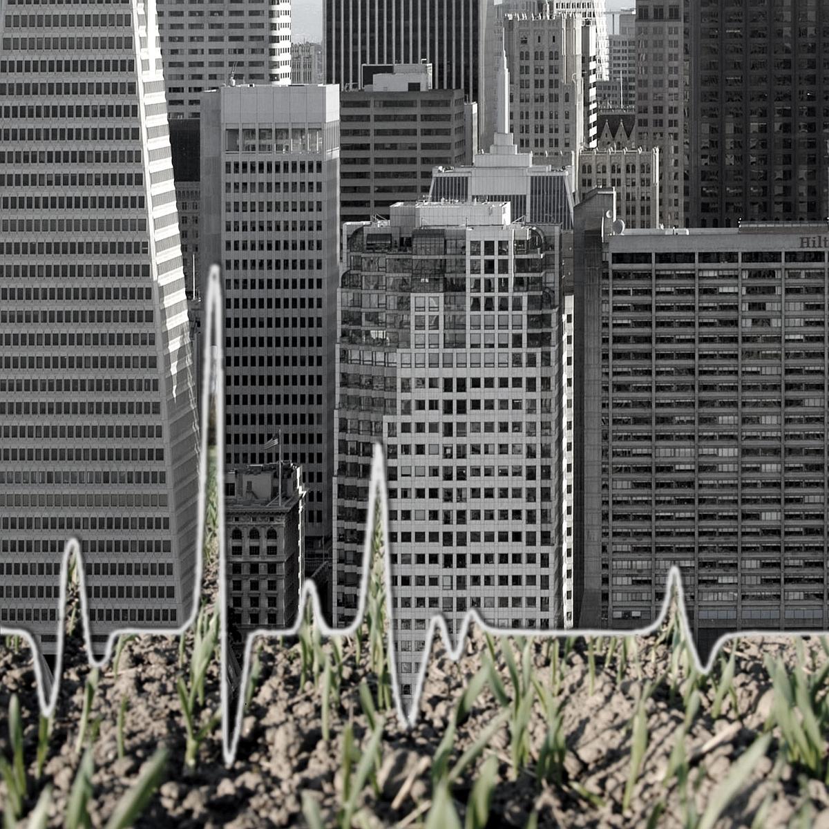"""Janina Rudnicka, cykl """"Habitat"""", """"Krzywa III"""", 2011, 20x20 cm (źródło: materiały prasowe organizatora)"""