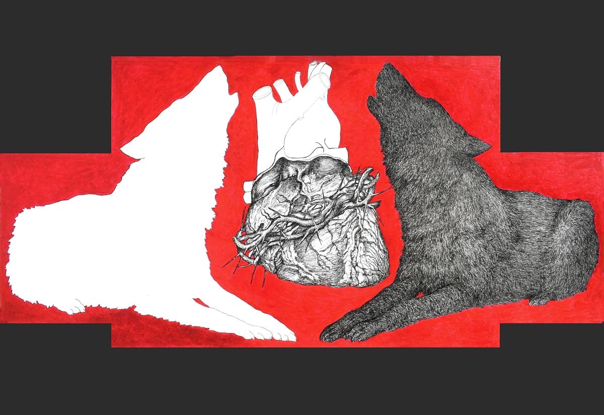 """Małgorzata Kręcka-Rozenkranz, """"Miłość i inne demony"""", 2011 (źródło: materiały prasowe organizatora)"""