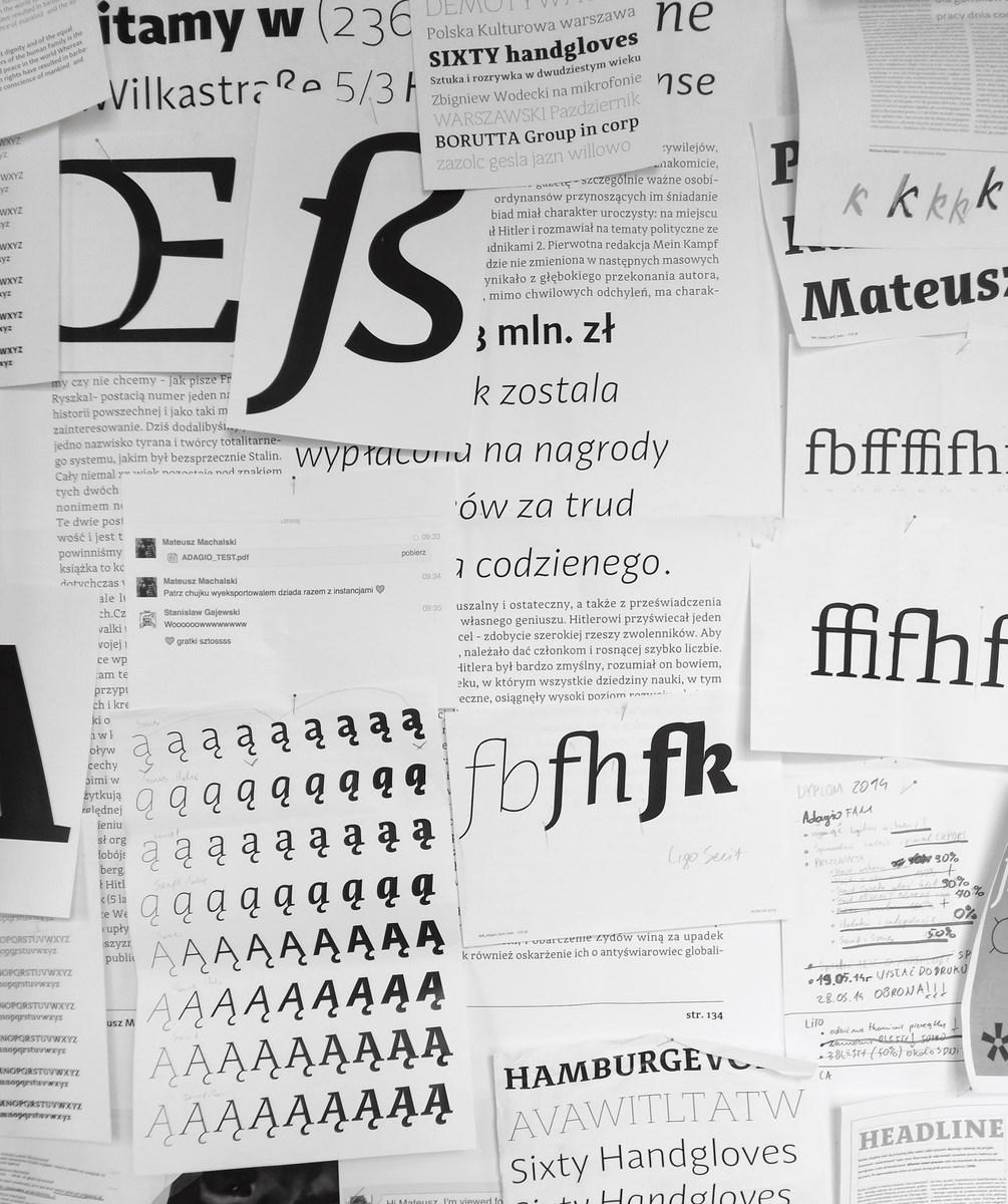 Wydział Grafiki. Autor pracy: Mateusz Machalski, Adagio (źródło: materiały prasowe organizatora)