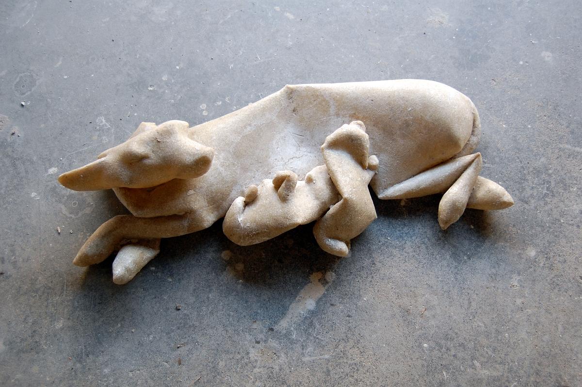"""Tomasz Skórka, """"Karmiąca"""", 2011 (źródło: materiały prasowe organizatora)"""