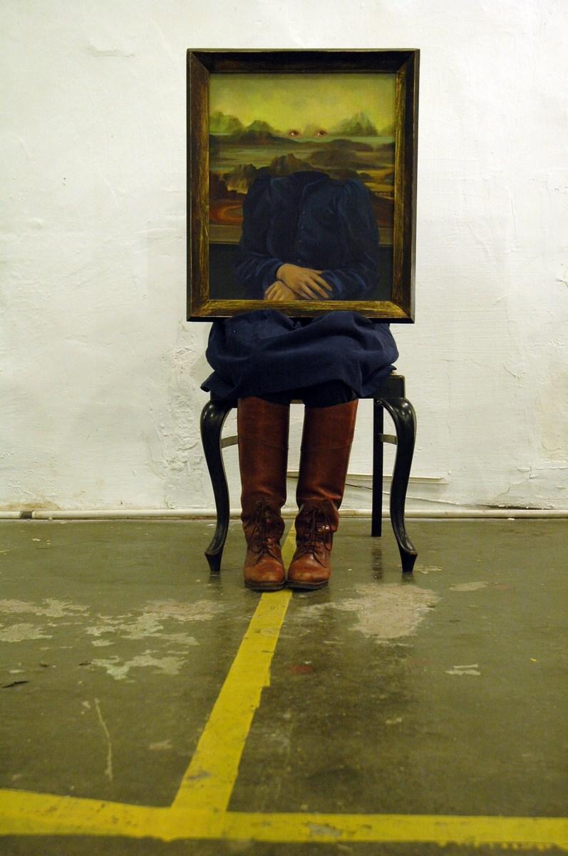 """Anna Adamiak, """"Autoportret"""", fot. Archiwum artystki (źródło: materiały prasowe organizatora)"""