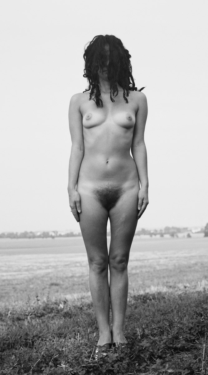 """Natalia LL, """"Topologia ciała"""", 1967, druk pigmentowy, 180x100 cm. Dzięki uprzejmości artystki (źródło: materiały prasowe organizatora)"""