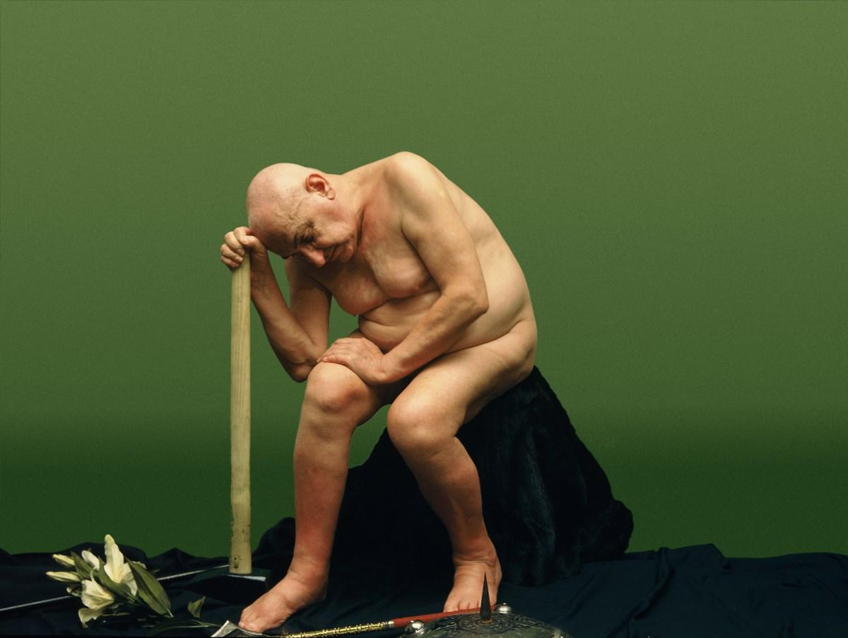 """Natalia LL, """"Transfiguracja Odyna II"""", 2009, tryptyk fotograficzny, 100 x 133 cm. Dzięki uprzejmości artystki (źródło: materiały prasowe organizatora)"""