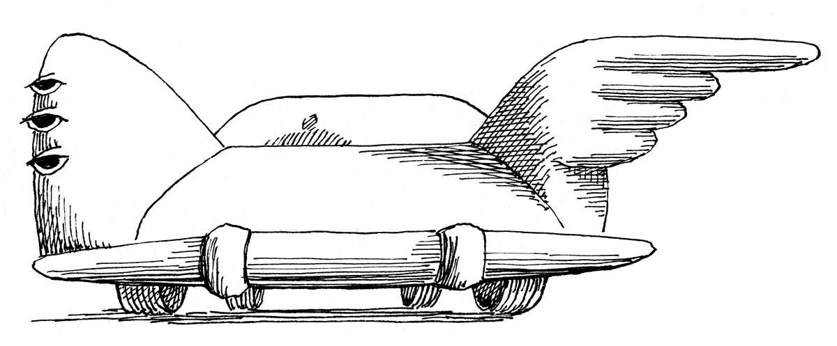 Daniel Mróz, Rączki-pojazdy (źródło: materiały prasowe)