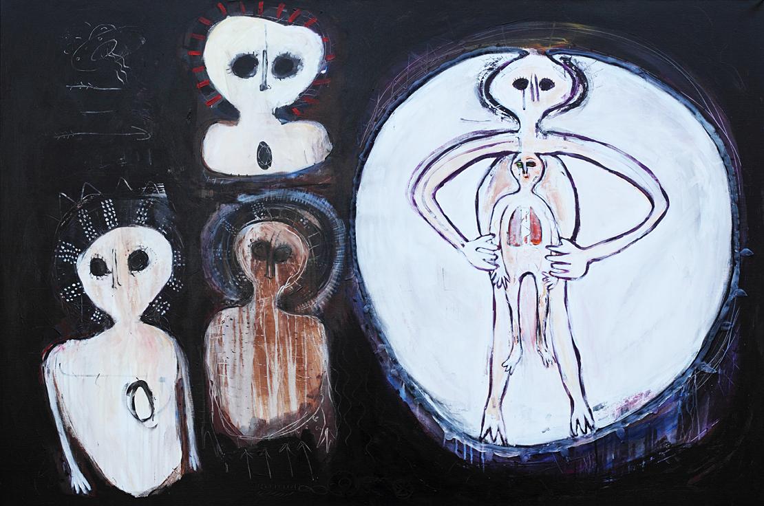 """Piotr Ambroziak, """"The birth"""" (źródło: materiały prasowe organizatora)"""