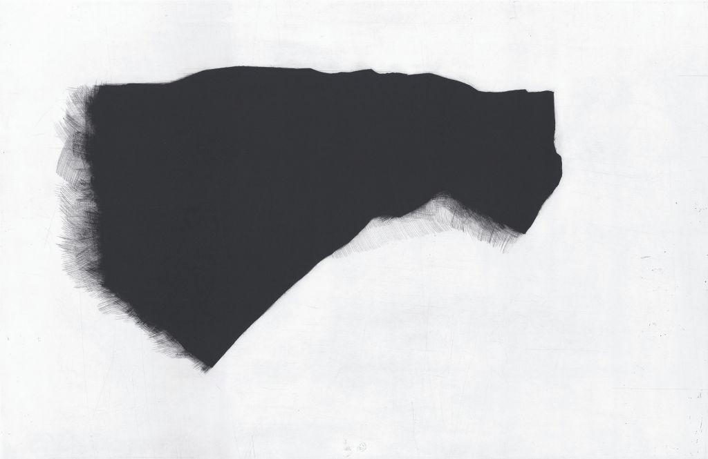 """Agata Gertchen, """"Przedmiot 2"""", mezzotinta (źródło: materiał prasowy organizatora)"""