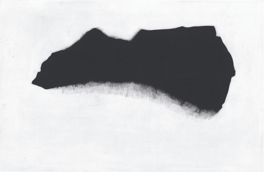 """Agata Gertchen, """"Przedmiot 3"""", mezzotinta (źródło: materiał prasowy organizatora)"""