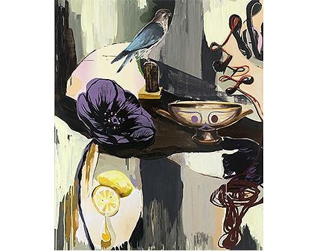 """Adam Saks, """"Bird of prey"""", 2014, własność galerii Forsblom, Helsinki (źródło: materiały prasowe organizatora)"""