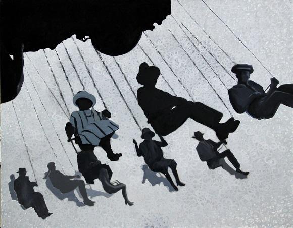 """Agnieszka Żak-Biełowa, """"Carousel"""", 2014 (źrodło: materiały prasowe organizatora)"""