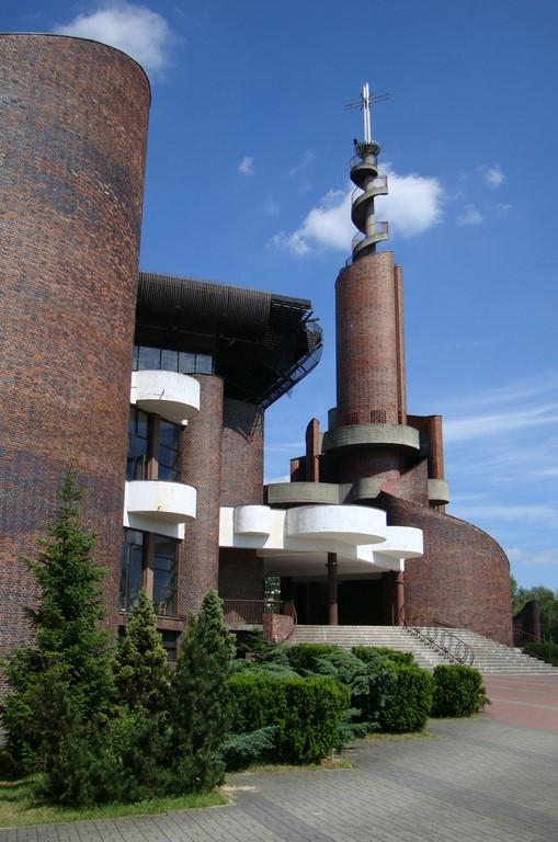 Kościół pw. Podwyższenia Krzyża Świętego, Katowice, proj. Buszko – Franta (źródło: materiały prasowe organizatora)
