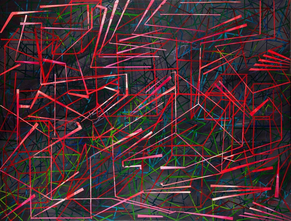 """Małgorzata Kosiec """"Red Track"""", 2014 (źródło: materiały prasowe organizatora)"""