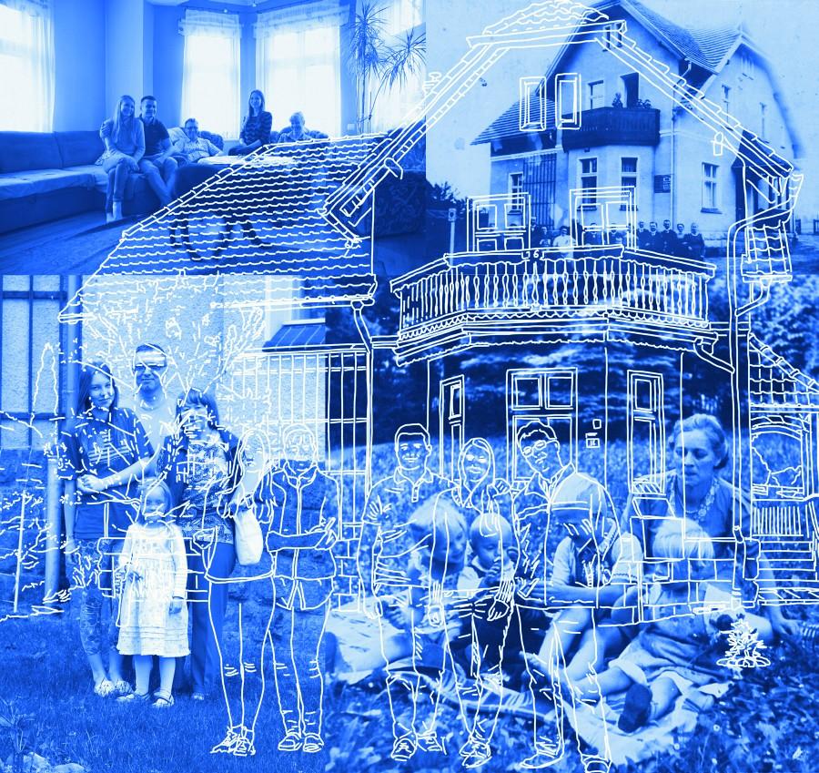 """Ute Lindner """"Z serii: Jestem jeszcze w swoim domu"""", 2013 (źródło: materiały prasowe organizatora)"""