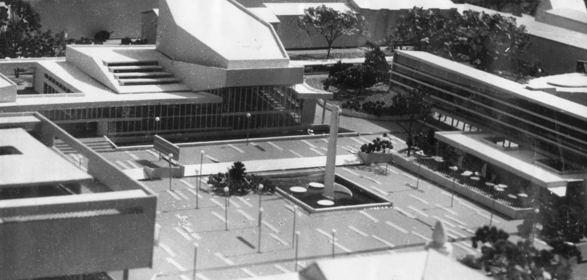 Zenon Prętczyński, Centrum Opola, projekt konkursowy, 1962 (źródło: materiały prasowe organizatora)