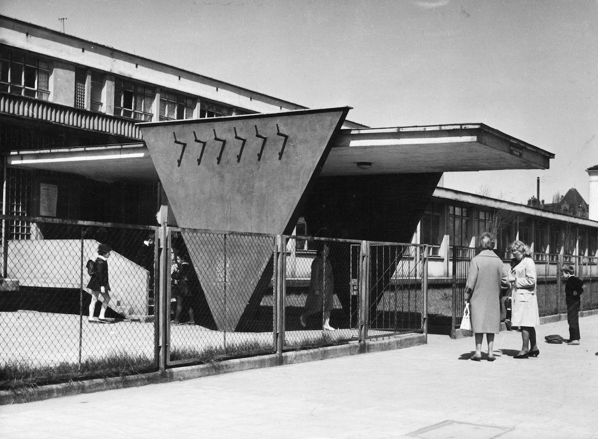 Zenon Prętczyński, Szkoła Podstawowa przy ulicy Górnickiego 20, 1967, Wrocław (źródło: materiały prasowe organizatora)