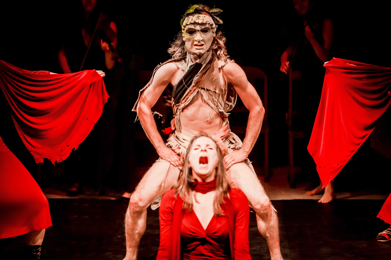"""Teatr Gardzienice, """"Oratorium pytyjskie"""", fot. K. Bieliński (źródło: materiały prasowe organizatora)"""